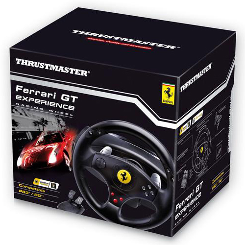 Thrustmaster Ferrari GT Experience Racing Wheel 3 In 1 Volant PC Thrustmaster Sur LDLC
