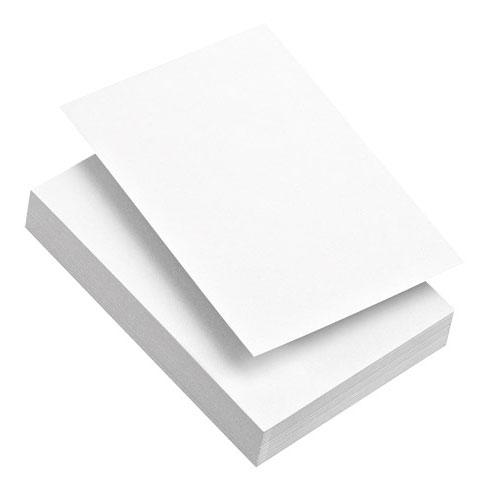 Fiches Bristol 100 Feuilles A4 Blanc Uni Papier