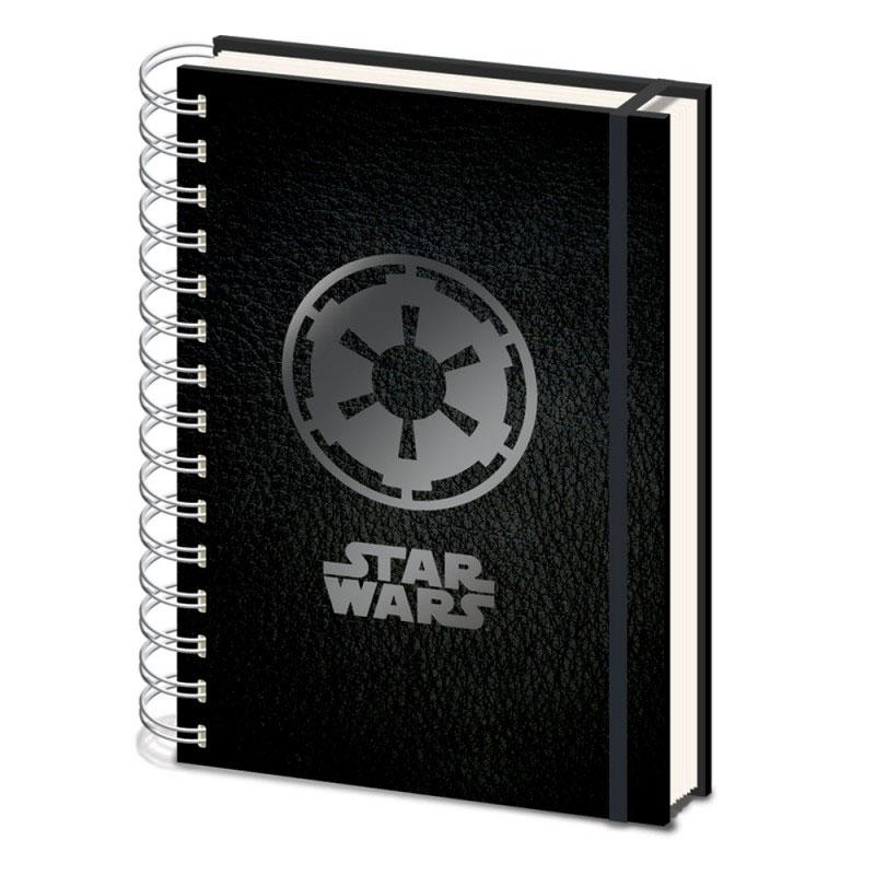 Cahier A5 Star Wars Empire Symbol Cahier Gnrique Sur