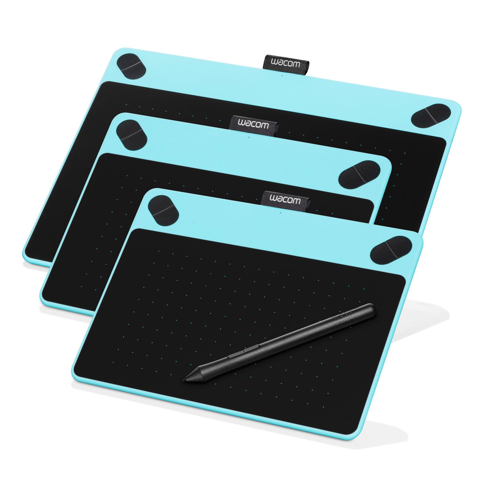 Wacom Intuos Art Medium Bleu Tablette Graphique Wacom