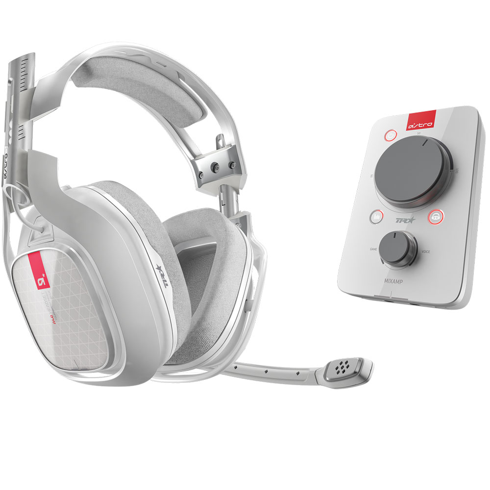 Astro A40 TR MixAmp Pro TR Blanc Micro Casque Gamer
