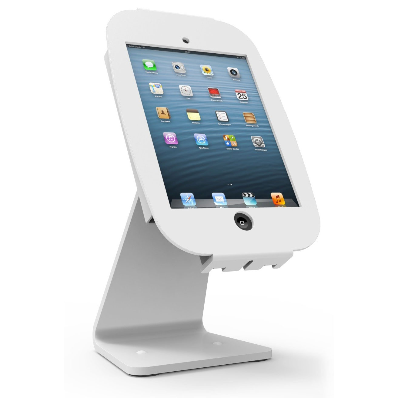 Maclocks Space IPad 360 Kiosk Blanc Support Tablette