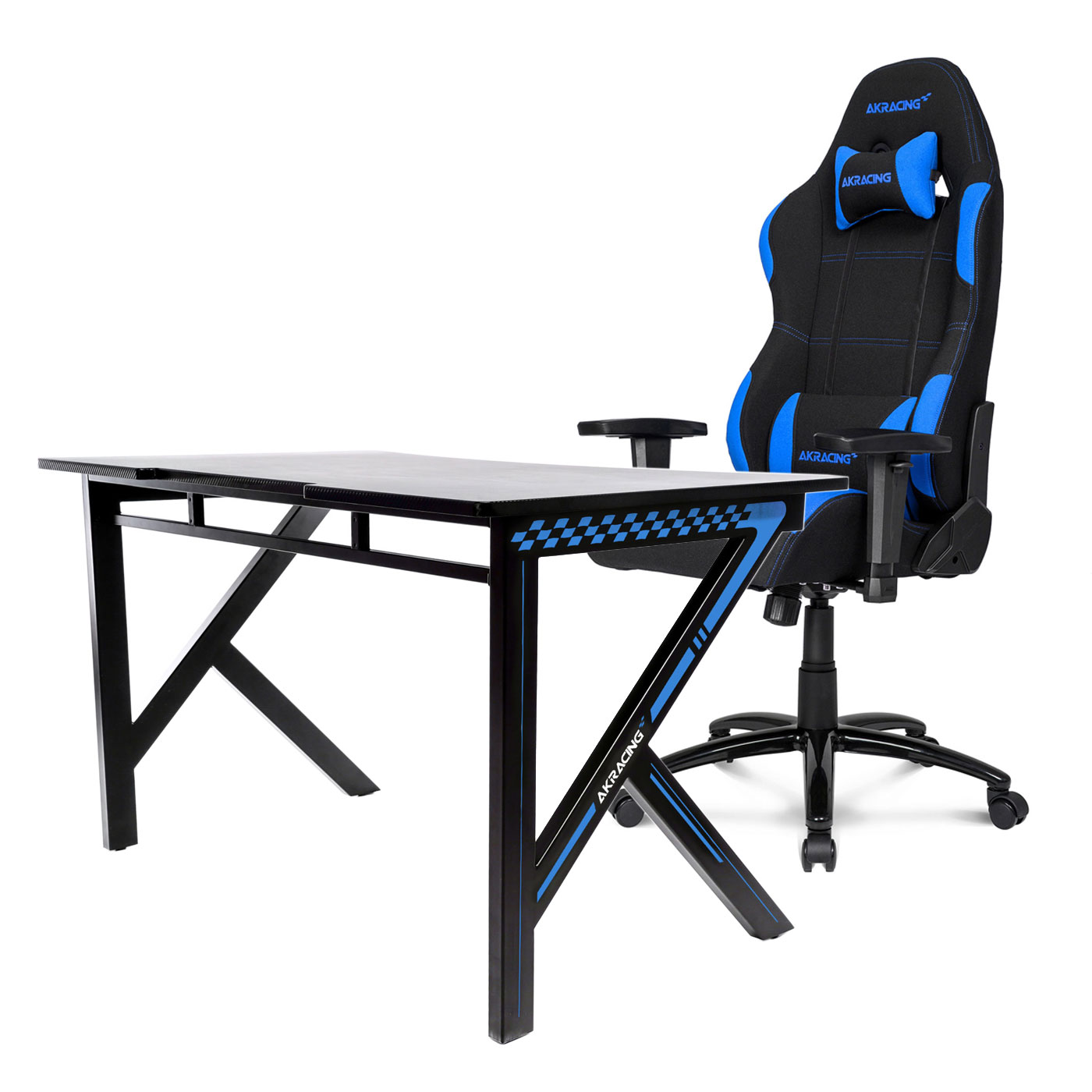 AKRacing Gaming Desk Bleu Fauteuil Gamer AKRacing Sur