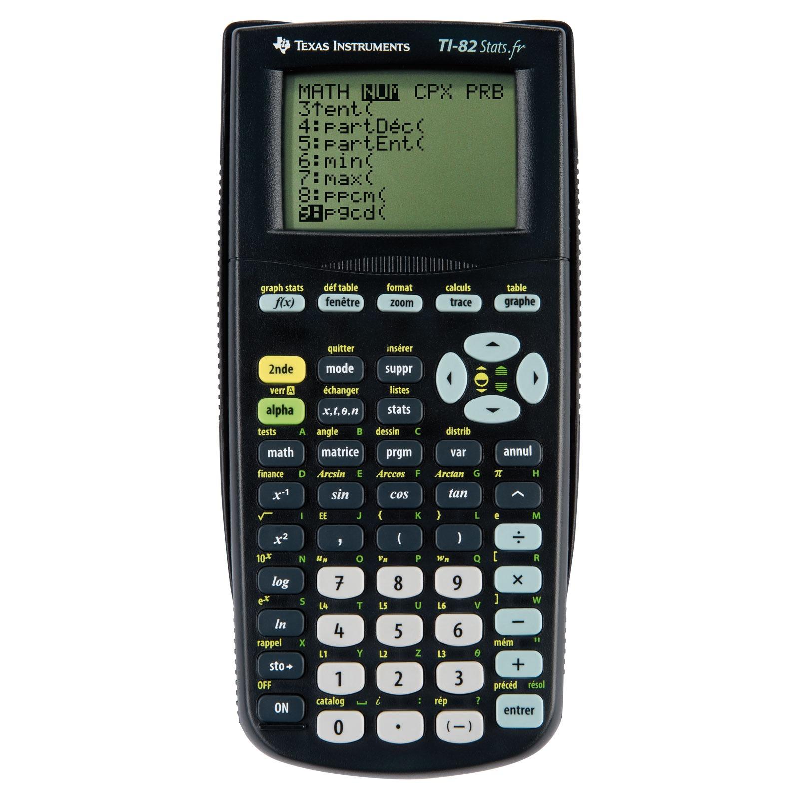 Texas Instruments TI 82 Stats Calculatrice Texas