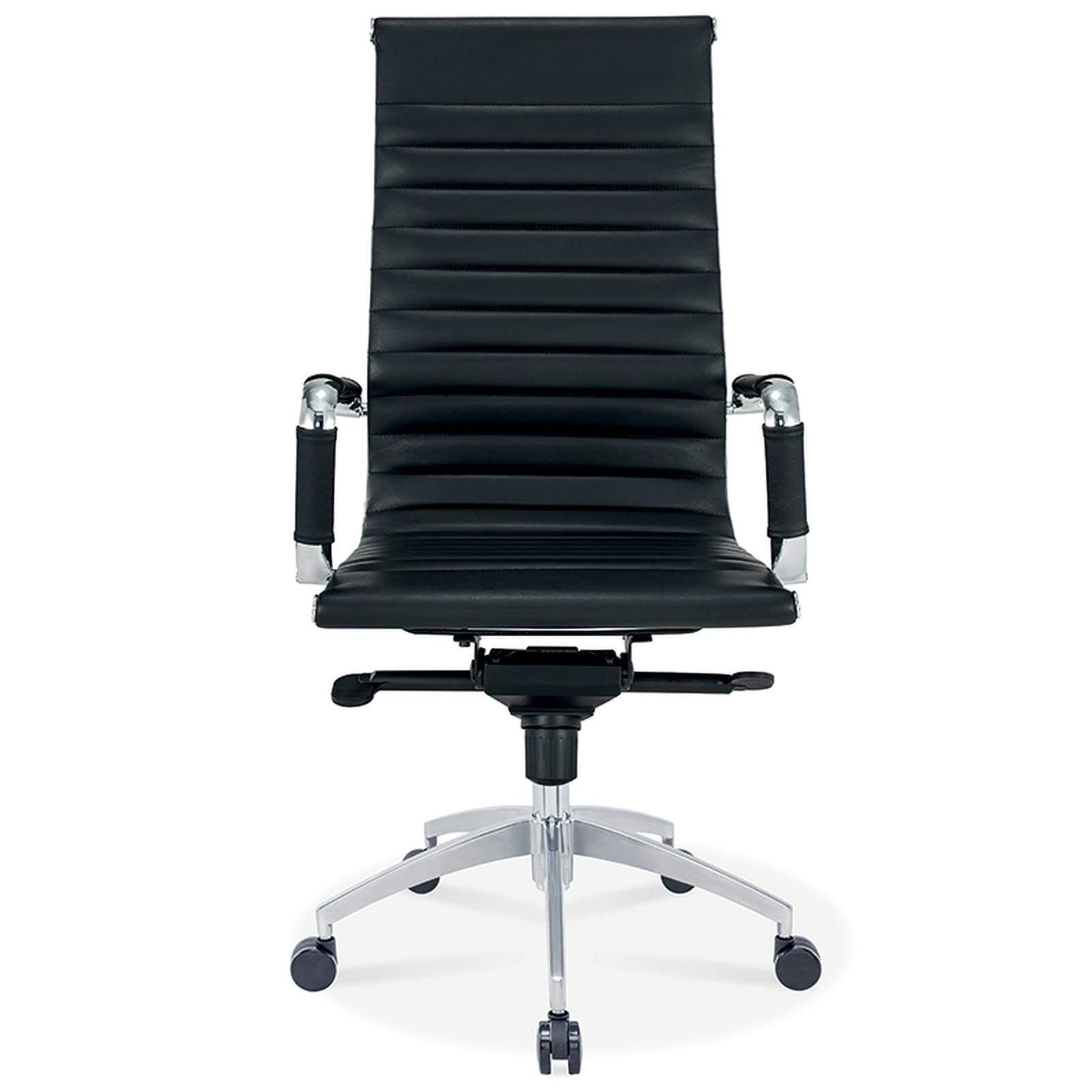 mti fauteuil mtga65x dossier haut en cuir noir