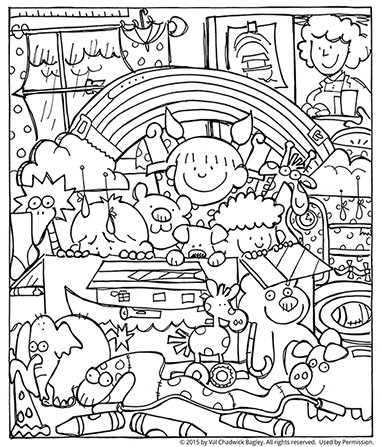 noah and the ark coloring pages # 10