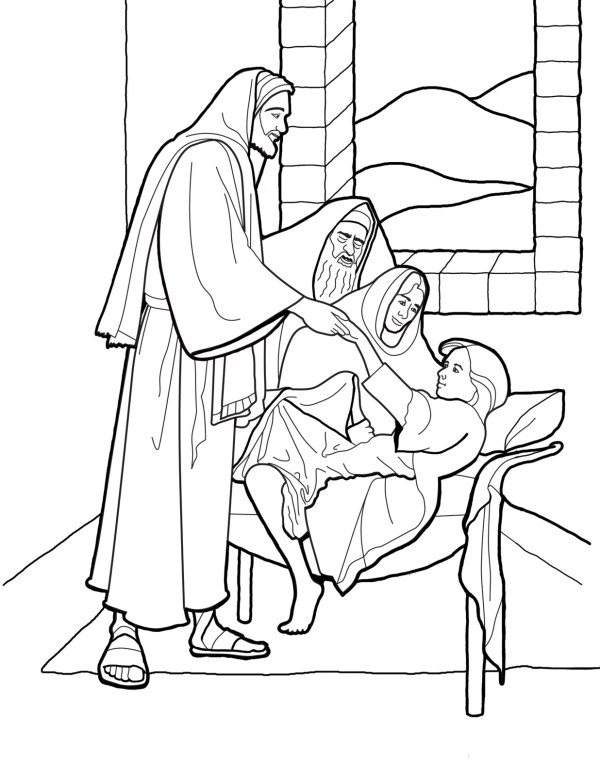 coloring pages jesus # 27