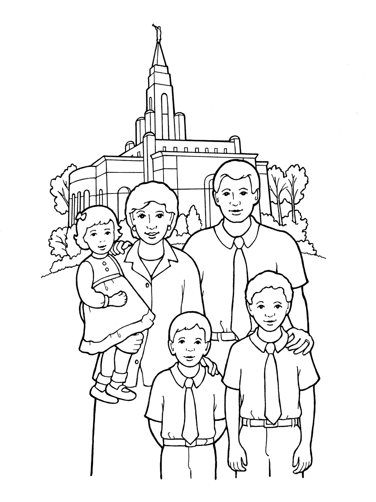 Temple Sealing Family