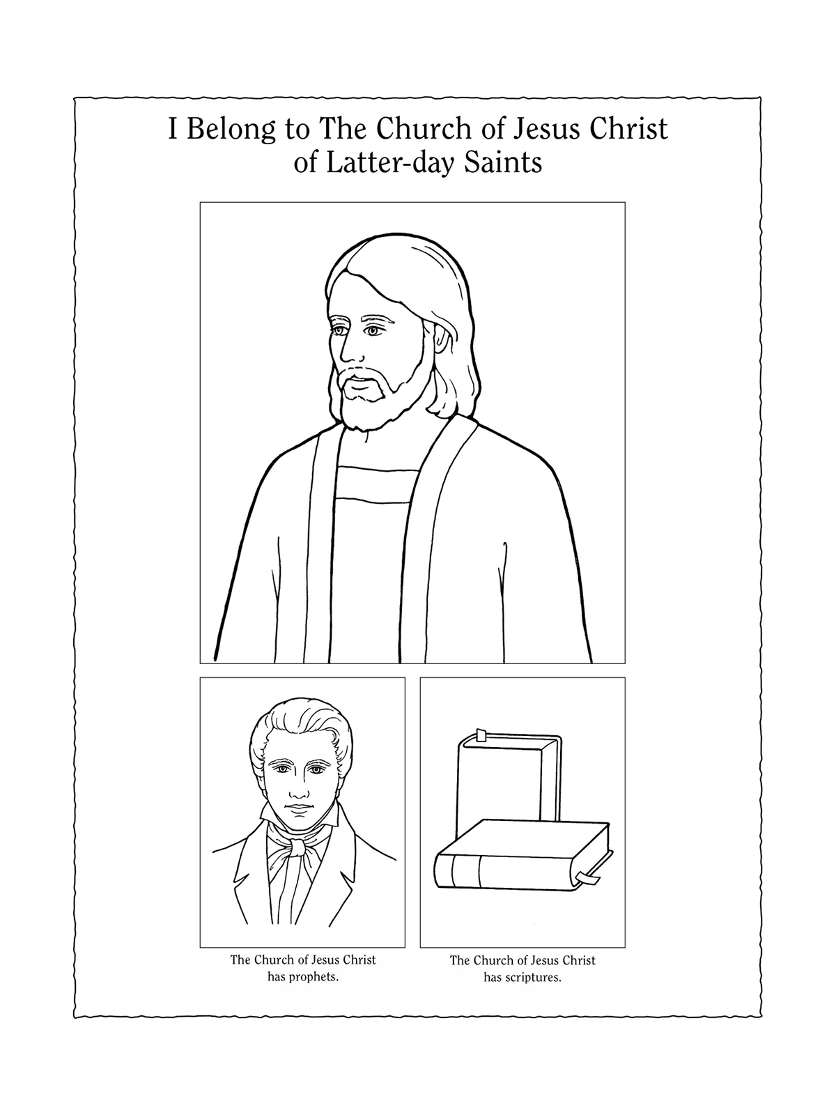 Nursery Manual Page 107 I Belong To The Church Of Jesus