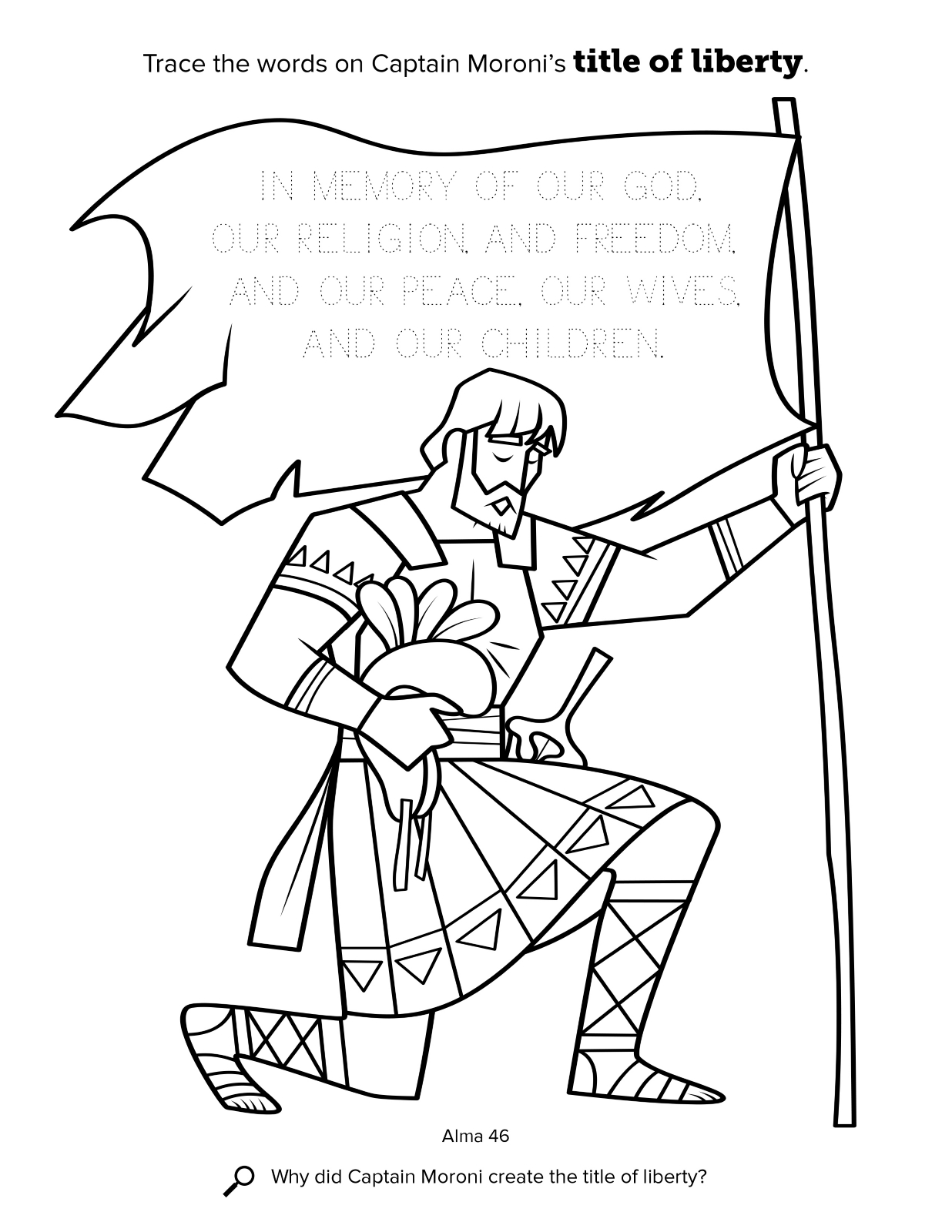 Book Of Mormon Coloring Pages Free Coloring Pages Download | Xsibe ...