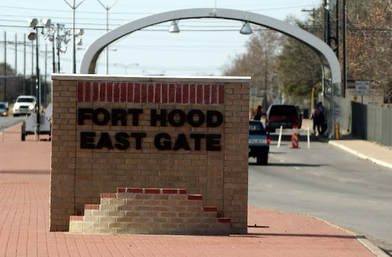 Fort Hood east gate