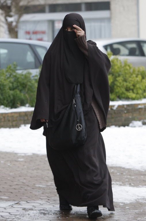 Image result for muslim covered woman