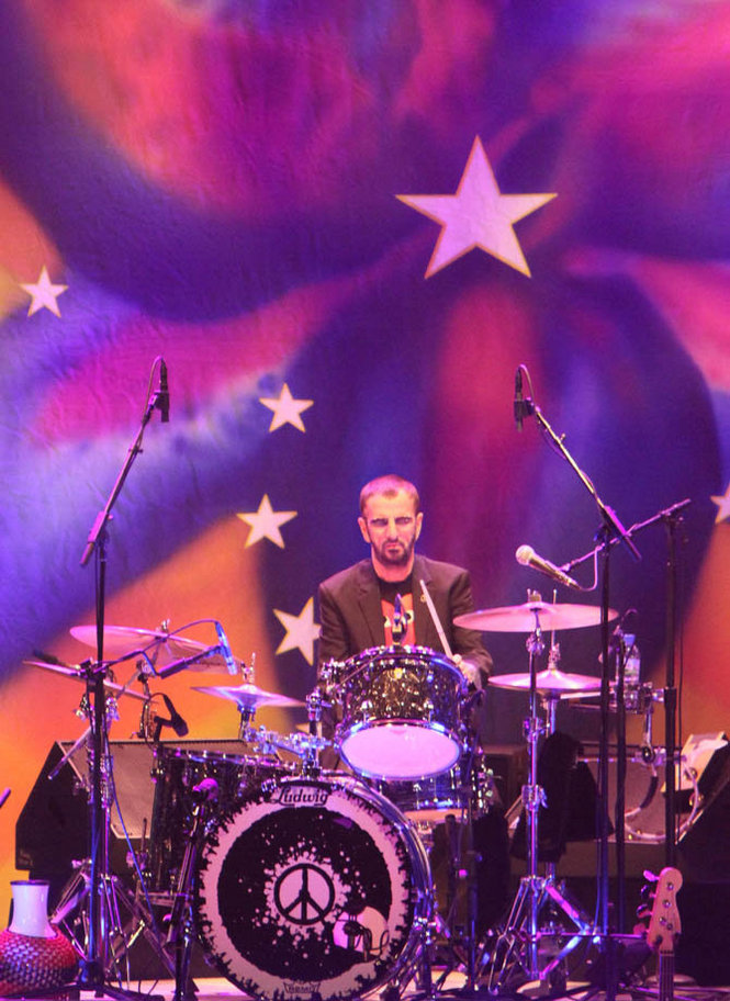 Ringo Starr and His All Starr Band performs