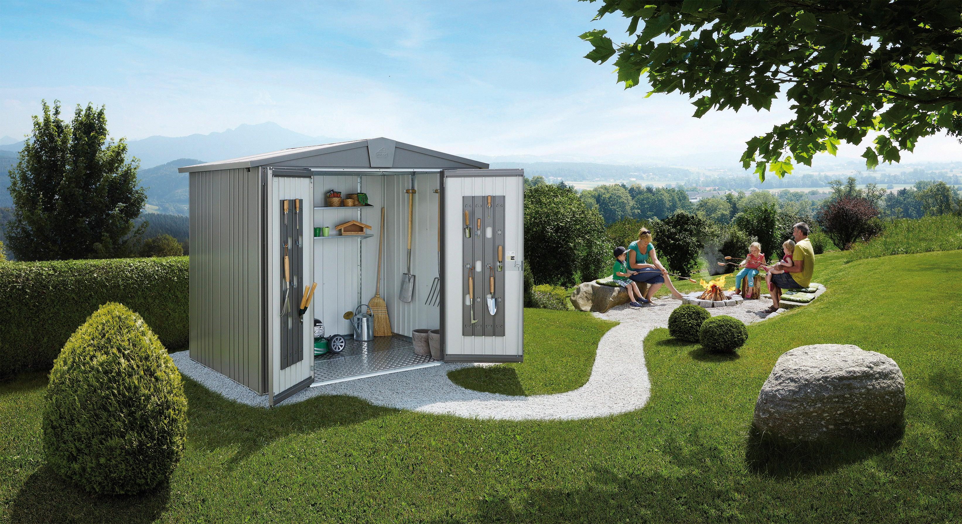 installation de votre abri de jardin en