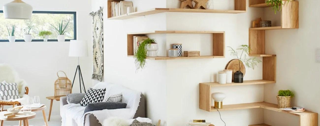 7 Conseils Pour Installer Des Etageres Chez Soi Leroy Merlin