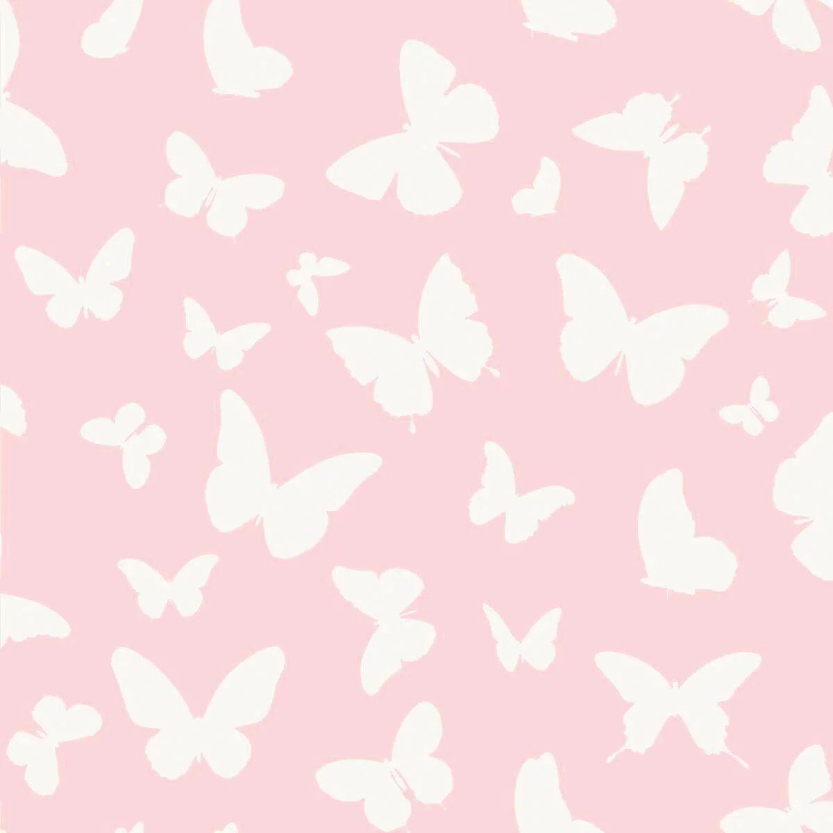 Vedi anche l'intera collezione delle carte da parati floreale con motivi in voga dai colori differenti. Carta Da Parati Farfalle Rosa 53 Cm X 10 05 M Leroy Merlin