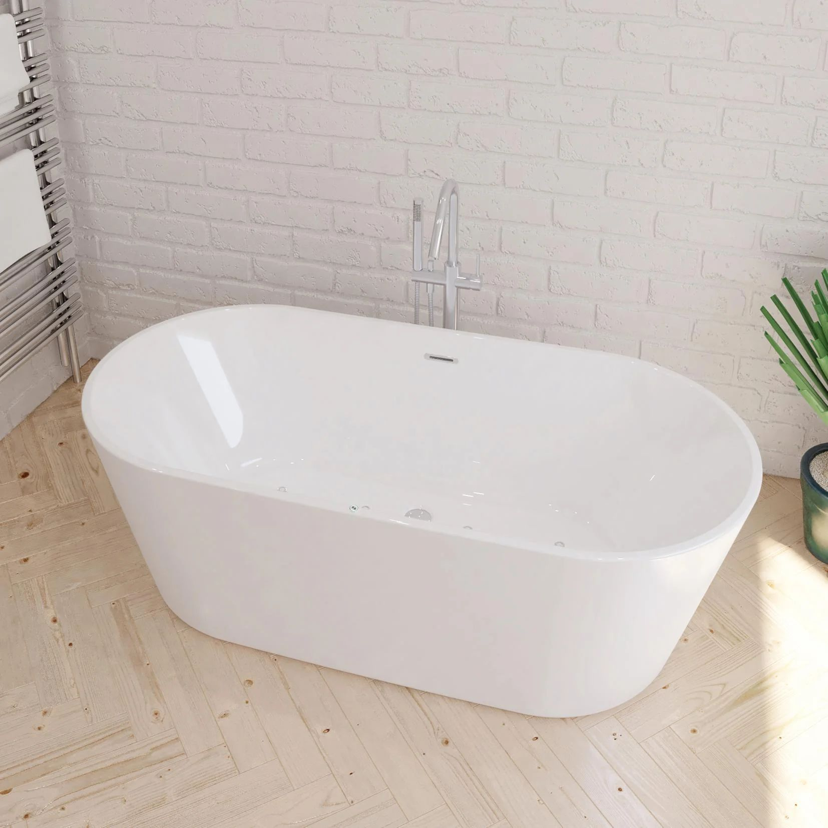 Scegliere le tende per il bagno: Vasca Centrale Leroy Merlin