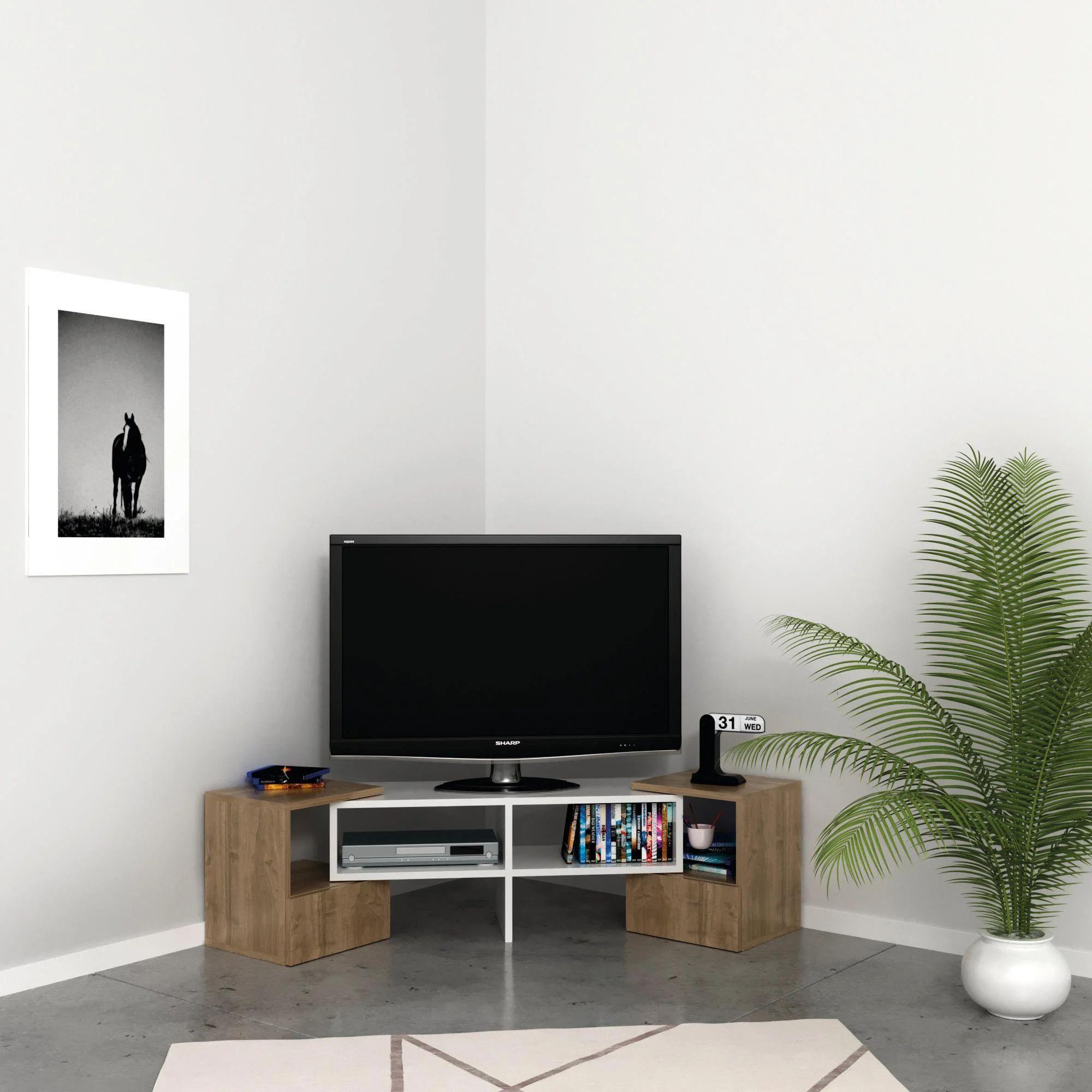 Ti servono mobili e accessori per la tua nuova cucina e hai un budget limitato? Mobile Per Tv Fold L 141 2 X H 38 8 X P 29 7 Cm Grigio Leroy Merlin