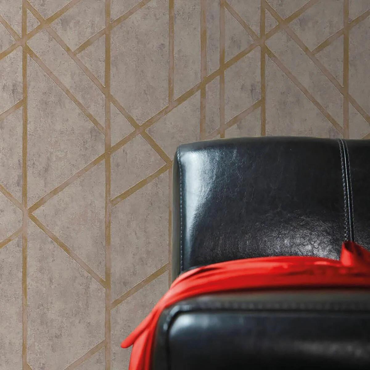 Trovare una selezione accurata di rivestimenti murali, dal design moderno quello classico, dal sobrio all'accattivante. Carta Da Parati Milano Oro Tortora 53 Cm X 10 0 M Leroy Merlin