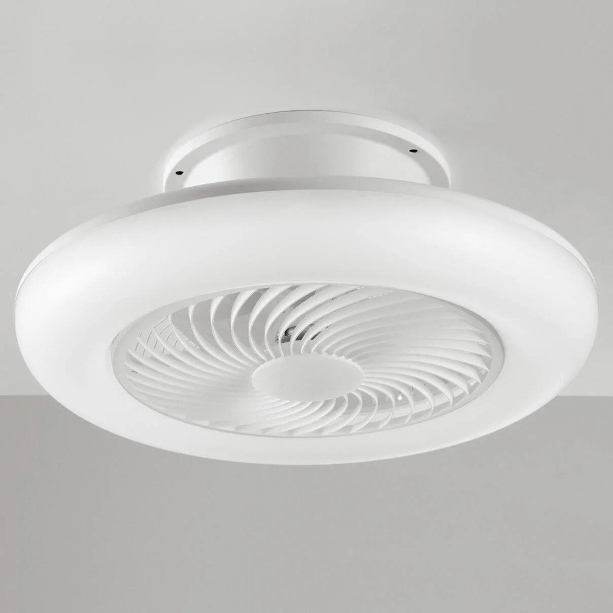 Ovlaim ventilatore da soffitto moderno da 122 cm con illuminazione a led (3 colori) e telecomando (6 velocità), motore dc a risparmio energetico,. Kit Luce Ventilatore Vortice Al Miglior Prezzo Leroy Merlin