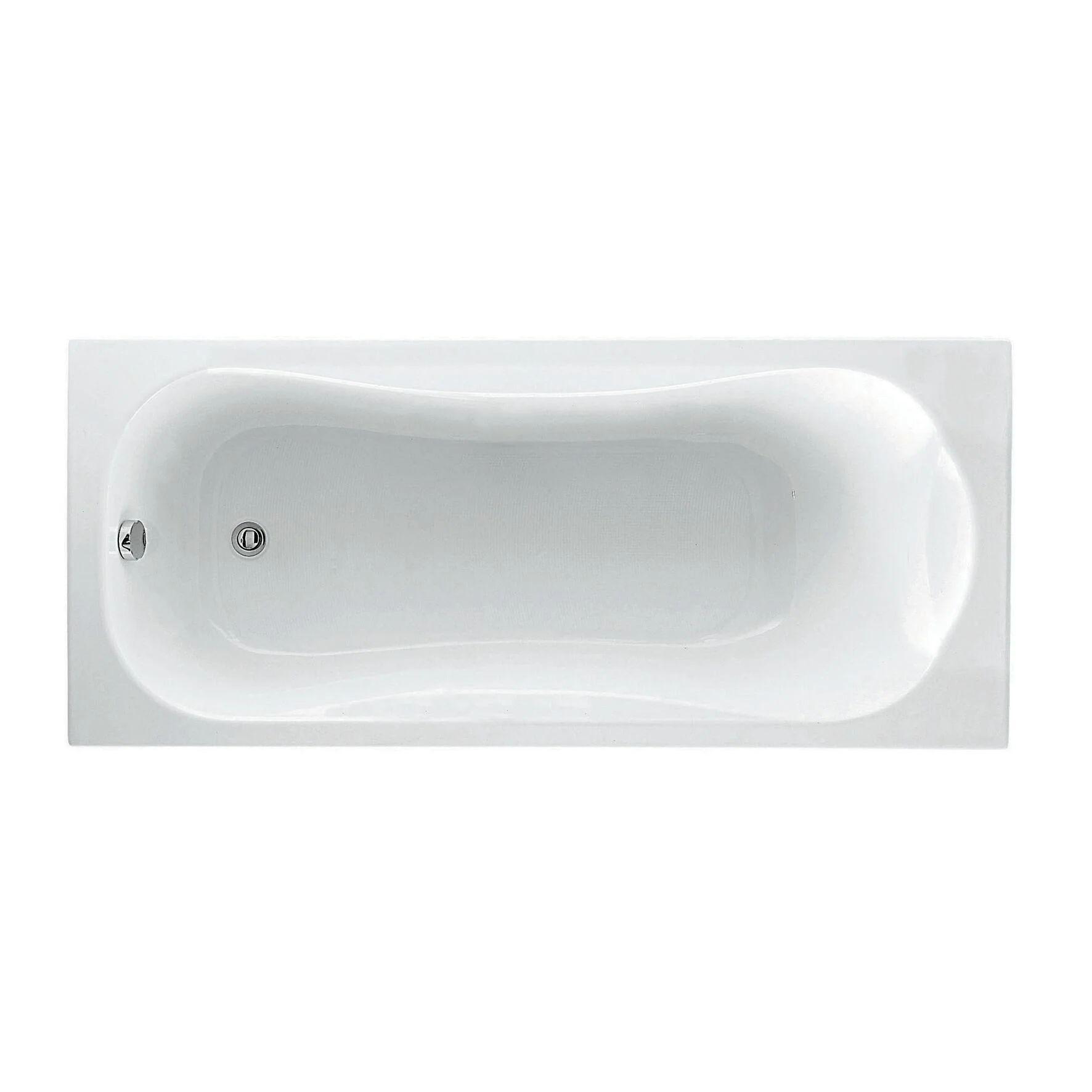 Le tende doccia leroy merlin sono la soluzione ideale per arredare il vostro bagno all'insegna della semplicità e donare allo stesso tempo un tocco di. Vasca Rettangolare Egeria Bianco 70 X 170 Cm Leroy Merlin