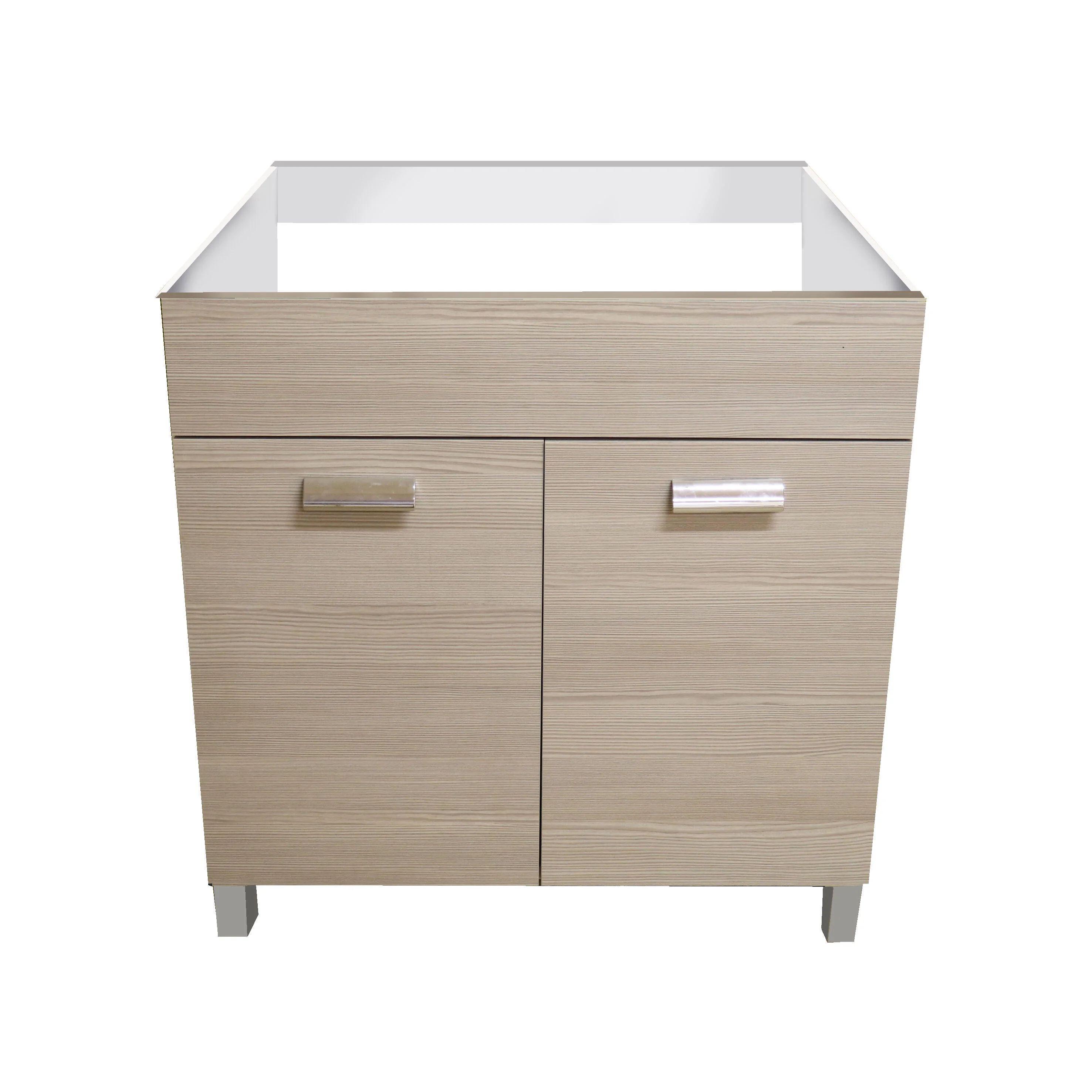 Il punto critico comune è il montaggio dei mobili, legato principalmente a due aspetti: Mobile Sottolavello Cucina Easy Olmo Grigio L 80h 85 X P 50 Cm Leroy Merlin