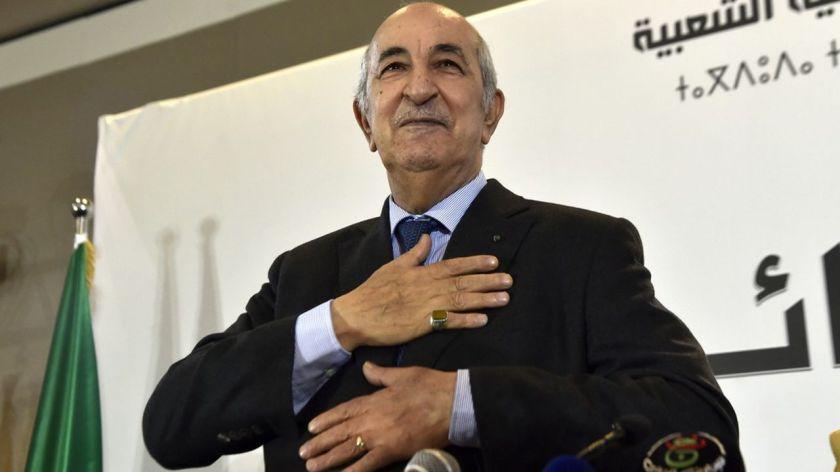 Le nouveau président algérien face à un mur de défiance | Les Echos
