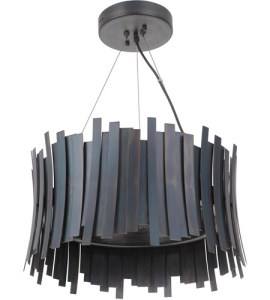 Craftmade 49490 FS LED Bastion LED 21 inch Fired Steel Pendant     Craftmade 49490 FS LED Bastion LED 21 inch Fired Steel Pendant Ceiling Light  photo