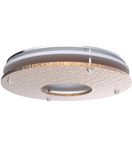 decorative led 11 inch hammered copper flushmount ceiling light