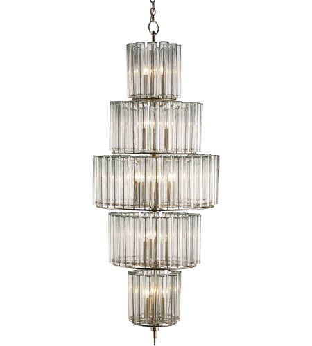currey company 9311 bevilacqua 18 light 27 inch silver leaf chandelier ceiling light large