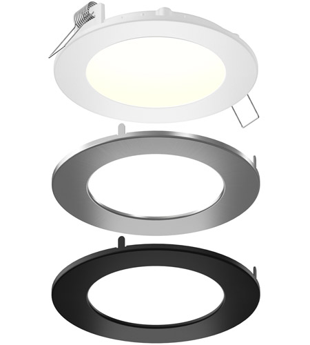dals lighting spn4 cc 3t color temperature changing spn all in one colors recessed panel light round