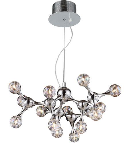 Elk 30025 15 Molecular Light 25 Inch Polished Chrome Chandelier Ceiling