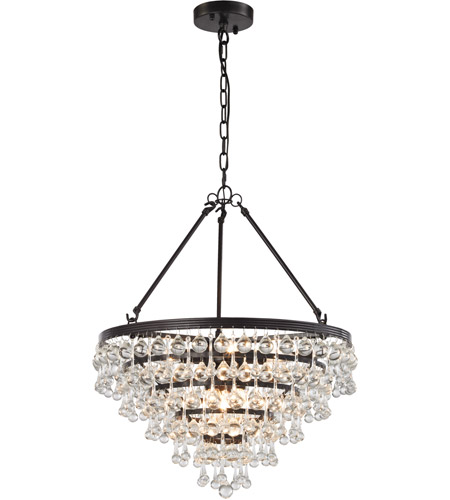 Elk 31271 6 Ramira Light 19 Inch Oil Rubbed Bronze Chandelier Ceiling In Standard