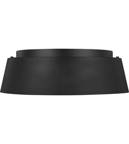 generation lighting ef1003mbk ed ellen degeneres asher 3 light 15 inch midnight black flush mount ceiling light