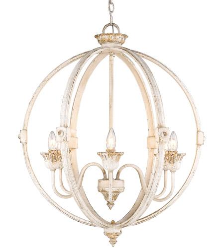 golden lighting 0892 6 ai jules 6 light 26 inch antique ivory chandelier ceiling light
