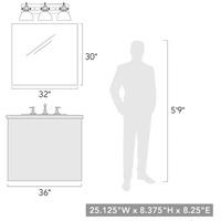 golden lighting 3118 ba3 blk sd hines 3 light 25 inch matte black bath vanity light wall light in seeded glass