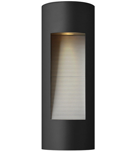 luna 2 light 16 inch satin black outdoor wall lantern in gu10 medium