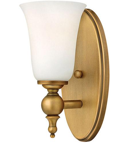 Yorktown 1 Light 5 inch Brushed Bronze Bath Sconce Wall Light on Bathroom Sconce Lights Brushed Bronze id=17359