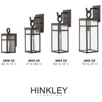 hinkley 2800oz open air porter 1 light 19 inch oil rubbed bronze outdoor wall lantern open air