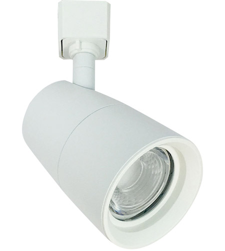 nora lighting nte 875l930x18w l mac 1 light white track ceiling light