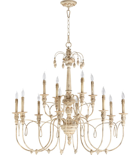 Quorum 6106 12 70 Nto Light 39 Inch Persian White Chandelier Ceiling
