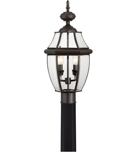 quoizel ny9042z newbury 2 light 21 inch medici bronze outdoor post lantern