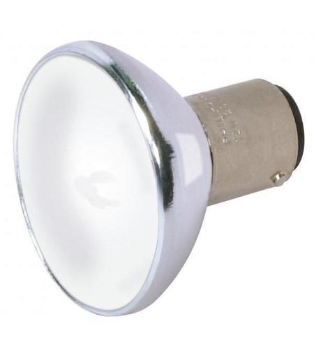 satco s4189 lumos halogen alr12 bayonet double contact ba15d 20 watt 12v 3000k light bulb
