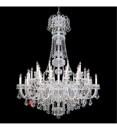 schonbek 6861 40s olde world 45 light 60 inch silver chandelier ceiling light in polished silver olde world swarovski