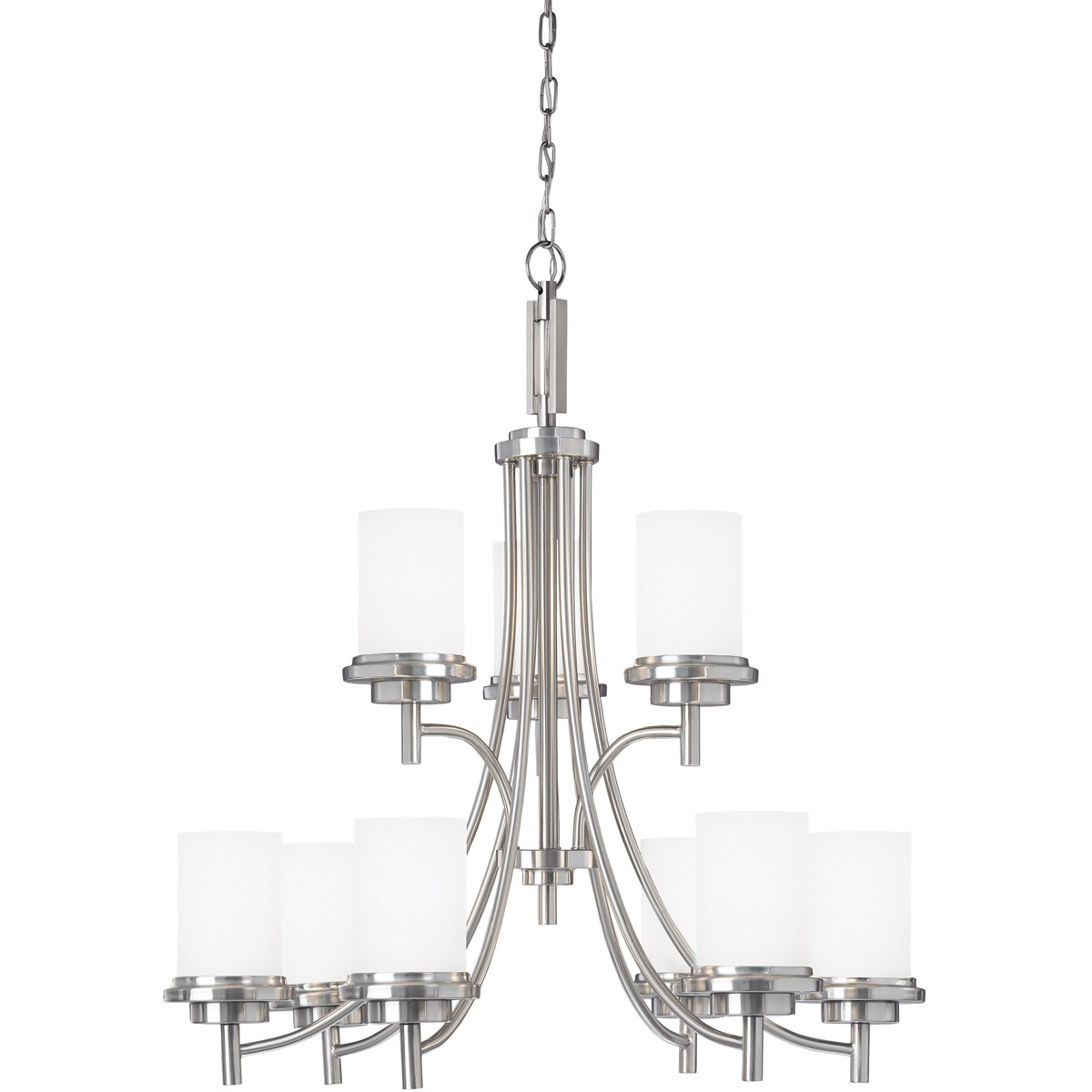 Sea Gull Lighting 962 Winnetka Chandelier Brushed