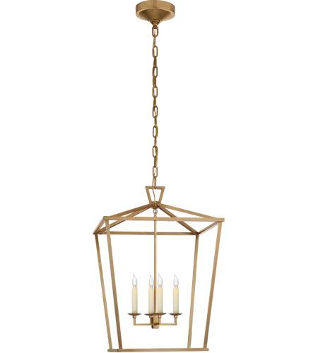 visual comfort chc2165ab e f chapman darlana 4 light 17 inch antique burnished brass foyer lantern ceiling light medium