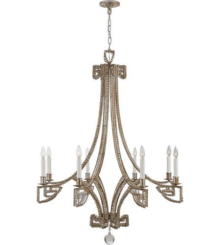 Visual Comfort Nw5160asl Cg Niermann Weeks Gallina 6 Light 39 Inch Antique Silver Leaf Chandelier Ceiling Medium