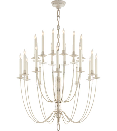 visual comfort tob5205bw thomas o brien erika 24 light 29 inch belgian white chandelier ceiling light