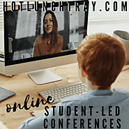 Website at https://www.hotlunchtray.com/student-led-conferences-online/