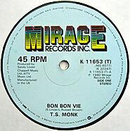 """12. """"Bon Bon Vie"""" - T. S. Monk"""